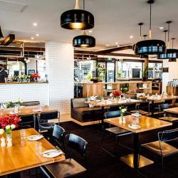 indoor hipster restaurant beach side st. kilda Republica