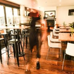 busy cafe restaurant coffee st. kilda republica